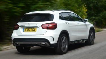 Mercedes GLA facelift - rear