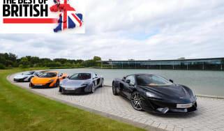 Best of British, McLaren's momentum