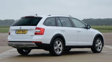 Skoda Octavia Scout review - rear static
