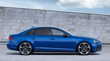 Audi A4 facelift - side