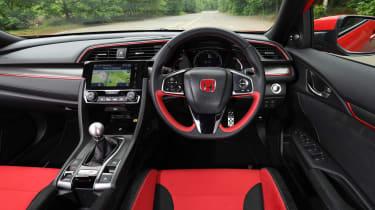 Honda Civic Type R - dash