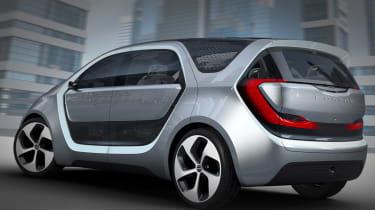 Chrysler Portal CES concept rear side