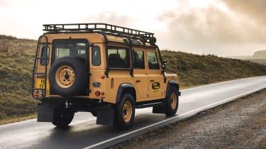 Land Rover Defender Works V8 Trophy - road