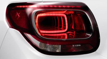 DS 3 hatchback - rear light