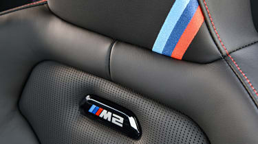 BMW M2 CS - seat detail