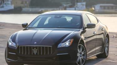 Maserati Quattroporte Diesel 2016 - front quarter 2