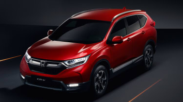 Honda CR-V - above