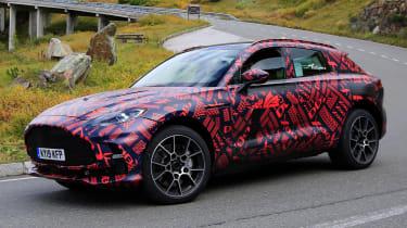 Aston Martin DBX S - spyshot 3