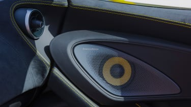 New McLaren 570S Spider - speaker
