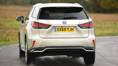 Lexus RX - rear action