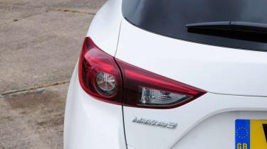 Mazda 3 - rear lights