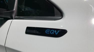 Mercedes EQV - badging