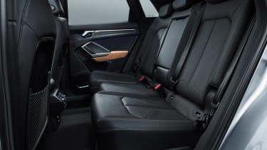 Audi Q3 - rear seats