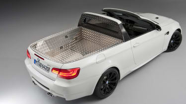 BMW's M3 pick-up truck rear