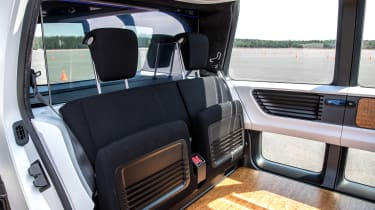 Volkswagen Sedric - seats folded