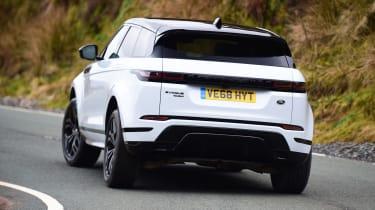 Range Rover Evoque - rear action