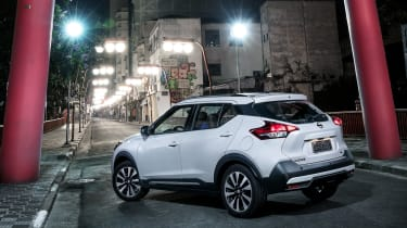 Nissan Kicks SUV - rear quarter 3
