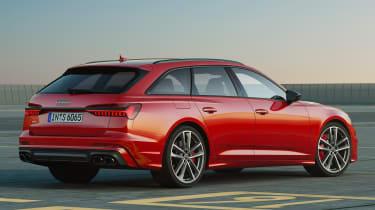 Audi S6 Avant mild-hybrid - rear static