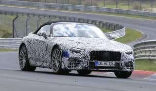 Mercedes SL spy 2021 -