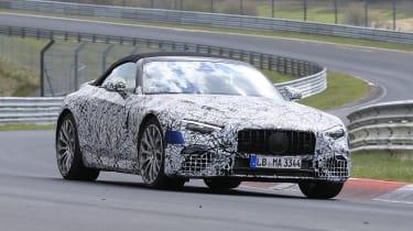 Mercedes SL spy 2021 -