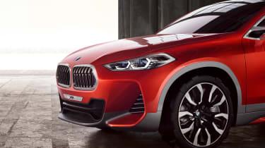 BMW X2 Concept - front detail