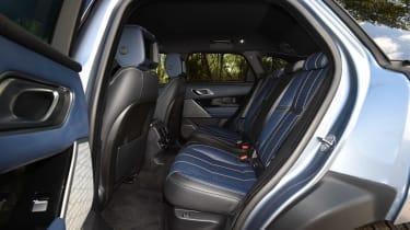 Range Rover Velar - rear seats