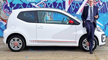Our fleet cars 2017 - Volkswagen up!
