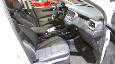 Kia Sorento - Frankfurt front seats