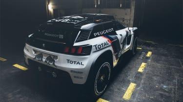 Peugeot 3008 DKR - rear three quarter