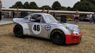 Goodwood Festival of Speed - race car
