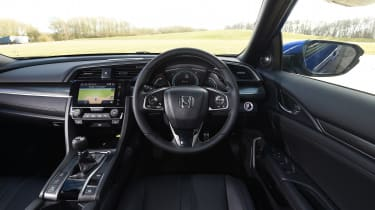 Honda Civic diesel - interior