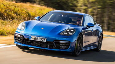 Porsche Panamera Turbo S E Hybrid - front