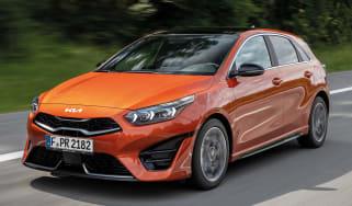 Kia Ceed facelift - front