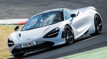 McLaren 720S - front cornering