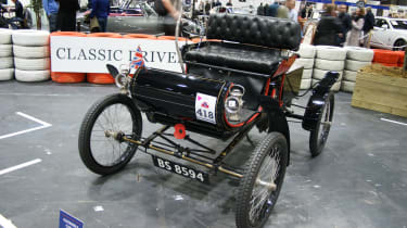 Oldsmobile Curved Dash at the London Classic Car Show