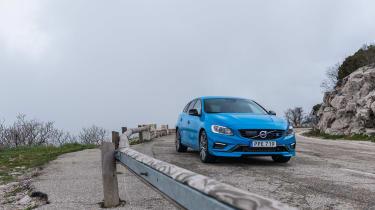 Volvo V60 Polestar - front three quarter
