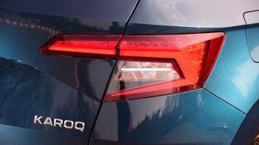 Skoda Karoq - rear badge
