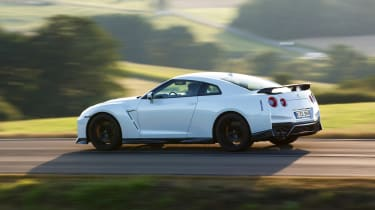 Nissan GT-R Track Edition - side