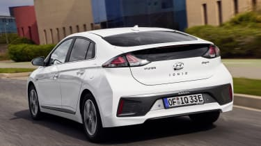 Hyundai Ioniq Plug-in - rear