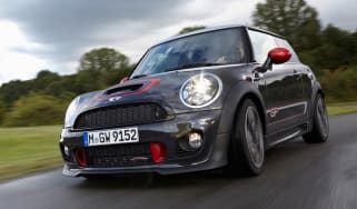 MINI JCW GP II front tracking