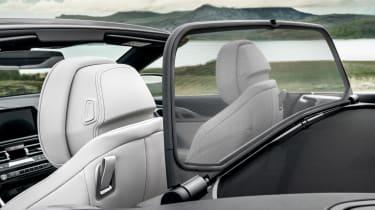 BMW 8 Series Convertible - wind deflector