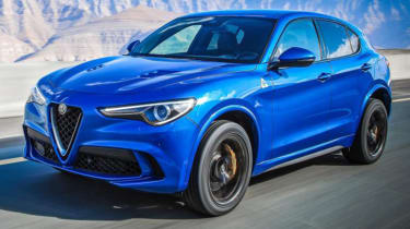 Fastest SUVs in the world - Alfa Romeo Stelvio Quadrifoglio