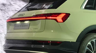 Audi e-tron - reveal rear detail