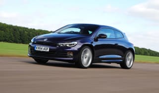 VW Scirocco R-Line - front tracking
