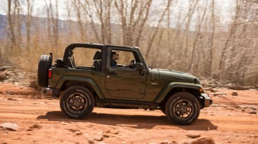 Jeep Wrangler 75th Anniversary - side