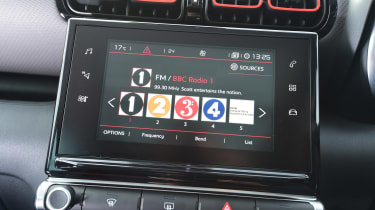 Citroen C3 Aircross - DAB radio