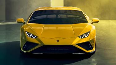 Lamborghini Huracan EVO RWD - front static