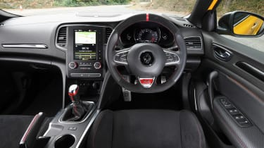Renault Megane R.S. - dash