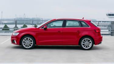 Audi A3 Sportback - side static