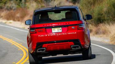 Range Rover Sport PHEV - rear